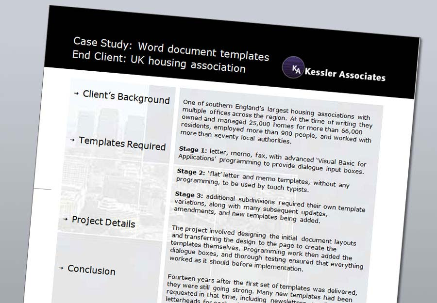 Kessler Associates case studies image
